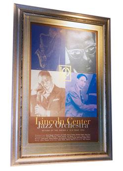 Lincoln Center Jazz Poster Preservation House Toronto Buy Shop web